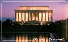 Postcard Lincoln Memorial, Washington, DC