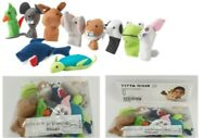 IKEA TITTA DJUR Finger puppet assorted mixed colours 10 different dolls One size