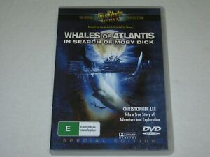 Whales Of Atlantis - In Search Of Moby Dick - VGC - All Regions - DVD