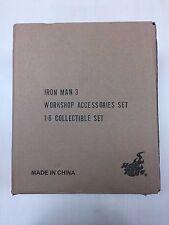 Hot Toys ACS 002 Iron Man Tony Stark's Workshop Set Accessories Collection NEW