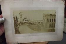 PHOTO ALBUMEN EXPOSITION UNIVERSELLE 1878  NEURDEIN PAVILLON NORVÈGE TUNISIE &
