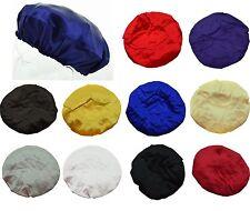 3pc Silky Satin Feel Night Sleep Cap Sleeping Hat Bonnet