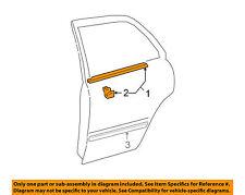 TOYOTA OEM 75740AA020 / 7574033080 02-06 Camry Rear Belt Molding Window Left LH