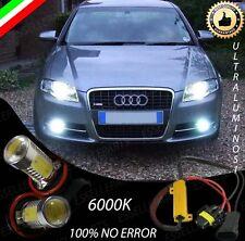 COPPIA LAMPADE FENDINEBBIA H11 LED CREE COB CANBUS AUDI A4 B7 AVANT NO ERRORE