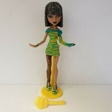 "(Nr. P266) Mattel - Monster High Puppe Cleo De Nile ""Dawn of the Dance"""
