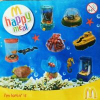 McDonalds Happy Meal Toy 2010 Jump On Board Ocean Toys - Various Figures