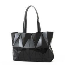 Women Japan style Handbag Geometric Laser Bao Bao Luminous Lingge Bag Bucket