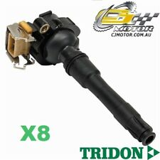TRIDON IGNITION COIL x8 FOR BMW  540i E39 10/96-11/00, V8, 4.4L M62 B44