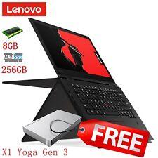 """Lenovo ThinkPad X1 Yoga G3 14"""" Touch FHD i5-8250U 256GB Notebook + Lacie 1TB HDD"""