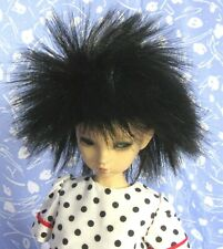 Playhouse Senji Black Full Cap Doll Wig Size 8-9 Spiky, Ethnic