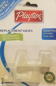 Playtex Sipsters Sippy Cup Valve Replacement 2-Pack