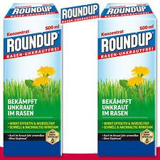 Roundup césped-hier 2 x 500 ml concentrado wegerich brennnessel eltrébol