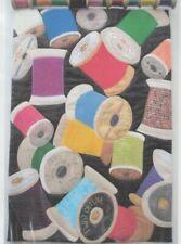 Spools - applique wall quilt PATTERN - Lavender Rabbit