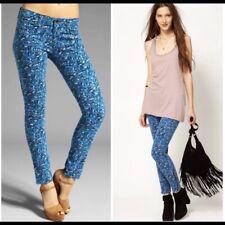 NWT Rag & Bone Astor Print Corduroy Zip Jeans Size 28