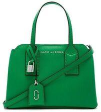 NWT MARC JACOBS The EDITOR Carryall Satchel X-Body Handbag PEPPER GREEN Leather