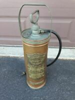 Vintage Antique General Quick Aid Fire Guard Extinguisher Pump Copper Model A704