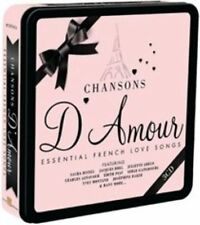 Chansons D'amour Essential French Love Songs Various Artists Audio CD