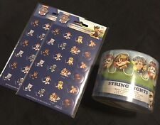 Paw Patrol Party String Lights and 192 Stickers Party Set