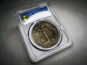 Great Britain Trade Dollar 1901 Calcutta Mint KM#T5 British BTD PCGS XF45