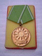 """DDR Polizei Medaille """"Für ausgezeichnete Leistungen"""" in Bronze, TOP"""