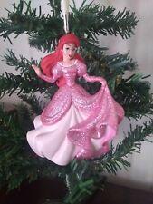 Ariel The Little Mermaid Glitter Gown Christmas Tree Ornament