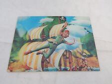 Vintage 60's 3D Disney Peter Pan Post Card