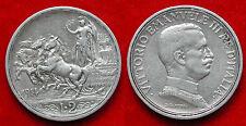 MONETA COIN REGNO ITALIA RE VITTORIO EMANUELE III LIRE 2 QUADRIGA BRIOSA 1914 #4
