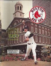 Vintage Boston Red Sox Second Edition A 1989 Fenway Park Scorebook