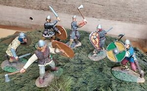 Lot of 6!  1/30 scale CONTE COLLECTIBLES Viking Warriors! FREE SHIPPING! 060 DL