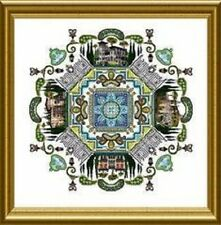 The Lake Como Mandala - Chatelaine New Counted Cross Stitch Pattern