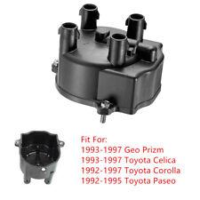 Fit 1992-97 Toyota Corolla Celica Geo Prizm 93-97 Distributor Cap Accessory Auto