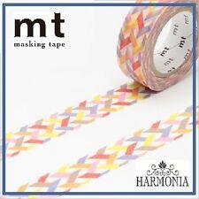 mt Masking Tape  Japanese High Quality Washi Tape 15mmx10m  SLASH RED
