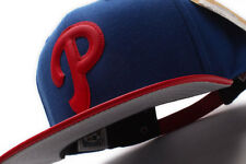 Philadelphia Phillies American Needle (40727A/PHP) Faux Leather Strapback Hat