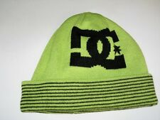 BNWT  - DC SHOES Reversible Bromont Beanie Hat  Lime Green