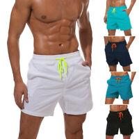 Mens Swimwear Swimsuits Surf Board Beach Wear Swim Trunks Shorts Quick Dry V03