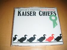 Kaiser Chiefs - Love's Not A Competition (But I'm Winning) promo CD Single