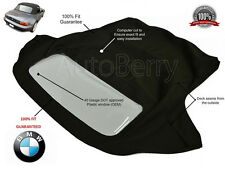 BMW Z3 Convertible Soft Top Replacement 1996-2002 (E37) Black Twill