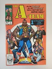 A-Team 1-3 Vf-Nm Mr. T, B A Baracus Hannibal, Murdock, 1984 Full Set Marvel