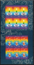 Miniature sheets, New Year, VF, MNH, Russia, 1999
