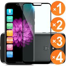 For [Motorola Moto G7 Power/Supra] Full Cover Tempered Glass Screen Protector