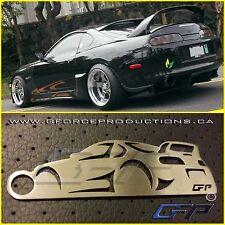 Toyota Supra MK4 wing JDM Stainless Steel Custom Key chain TRD GR Turbo