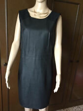 Stunning dress with inserts in synthetic leather VERO MODA Woman black, size 42
