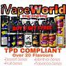 10ml iVapeWorld Flavour E Liquid Vapour Shisha Pen Juice Refill Oil 0 3 6mg TPD