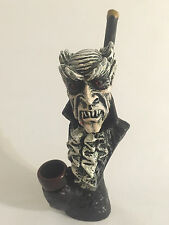 HANDMADE TOBACCO PIPE, Demonic Dracula Design.
