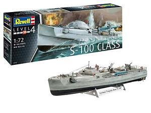 Revell 1/72 German Fast Attack Craft S-100 - 05162 Plastic Model Kit