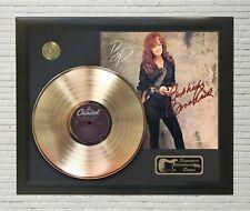 "Bonnie Raitt Framed LP Record Reproduction Signature Display  ""M4"""