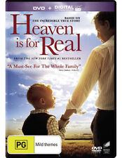 Heaven Is For Real (DVD/UV) * NEW DVD * (Region 4 Australia)
