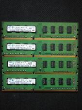 16GB Samsung Memory DDR3 Ram M378B5273CH0 - CH9 4x4GB PC3-10600U 240pin