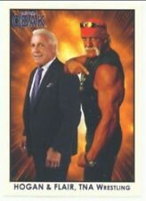 "HULK HOGAN & RIC FLAIR ""OBAK CARD #100"" WWE TNA NEW ERA"