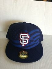 f69e9156ce199 San Francisco Giants New Era 59Fifty Stars   Stripes Fitted Hat Size 7 1 2